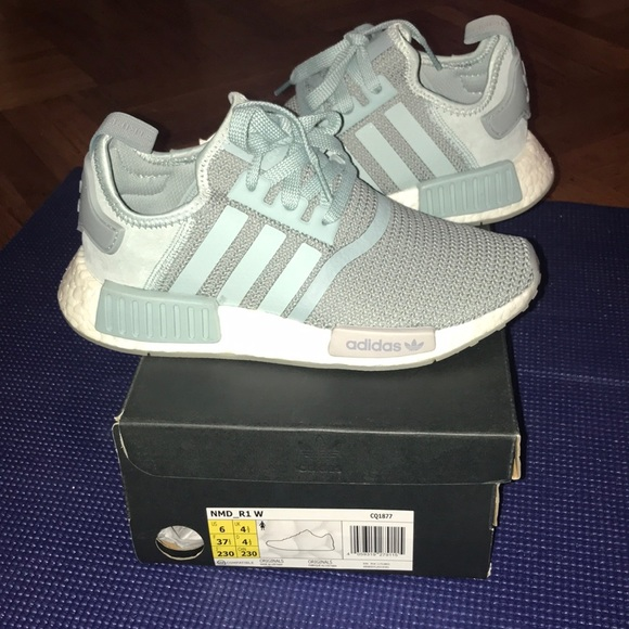 big sale 9b1e8 d949a Adidas NMD R1 Teal sneakers size US 6 women s !